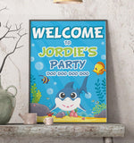 Baby Shark Welcome Sign
