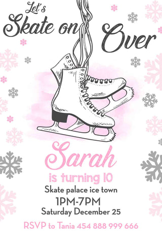 Ice Skating Invitation