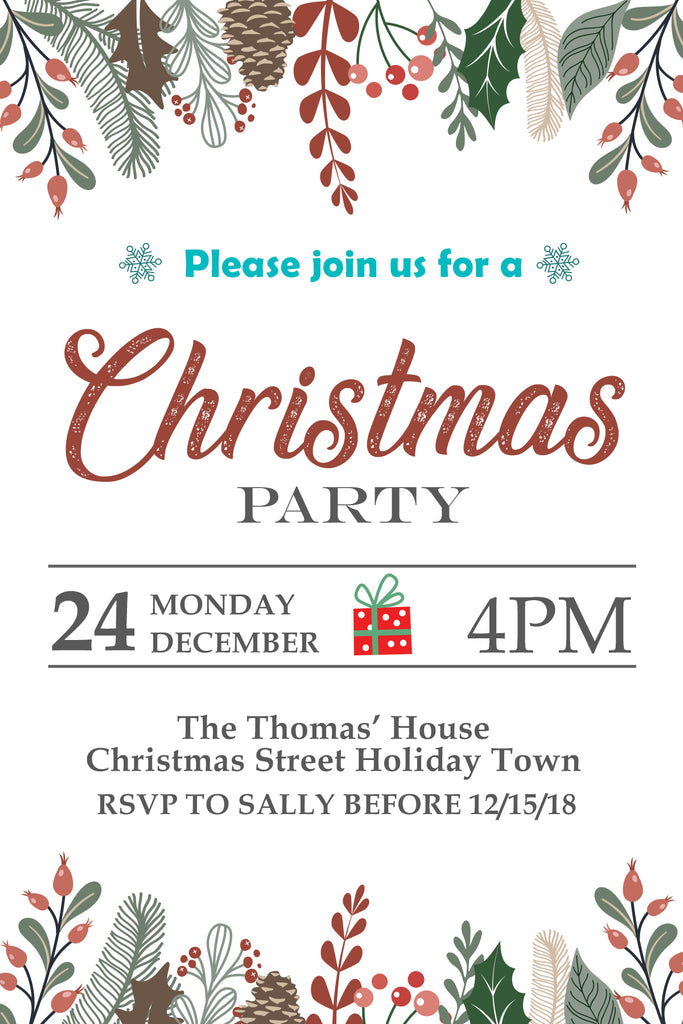 Chrismas Party Invitation