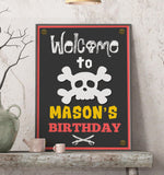 Pirate Birthday Poster