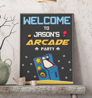 Arcade Welcome Sign