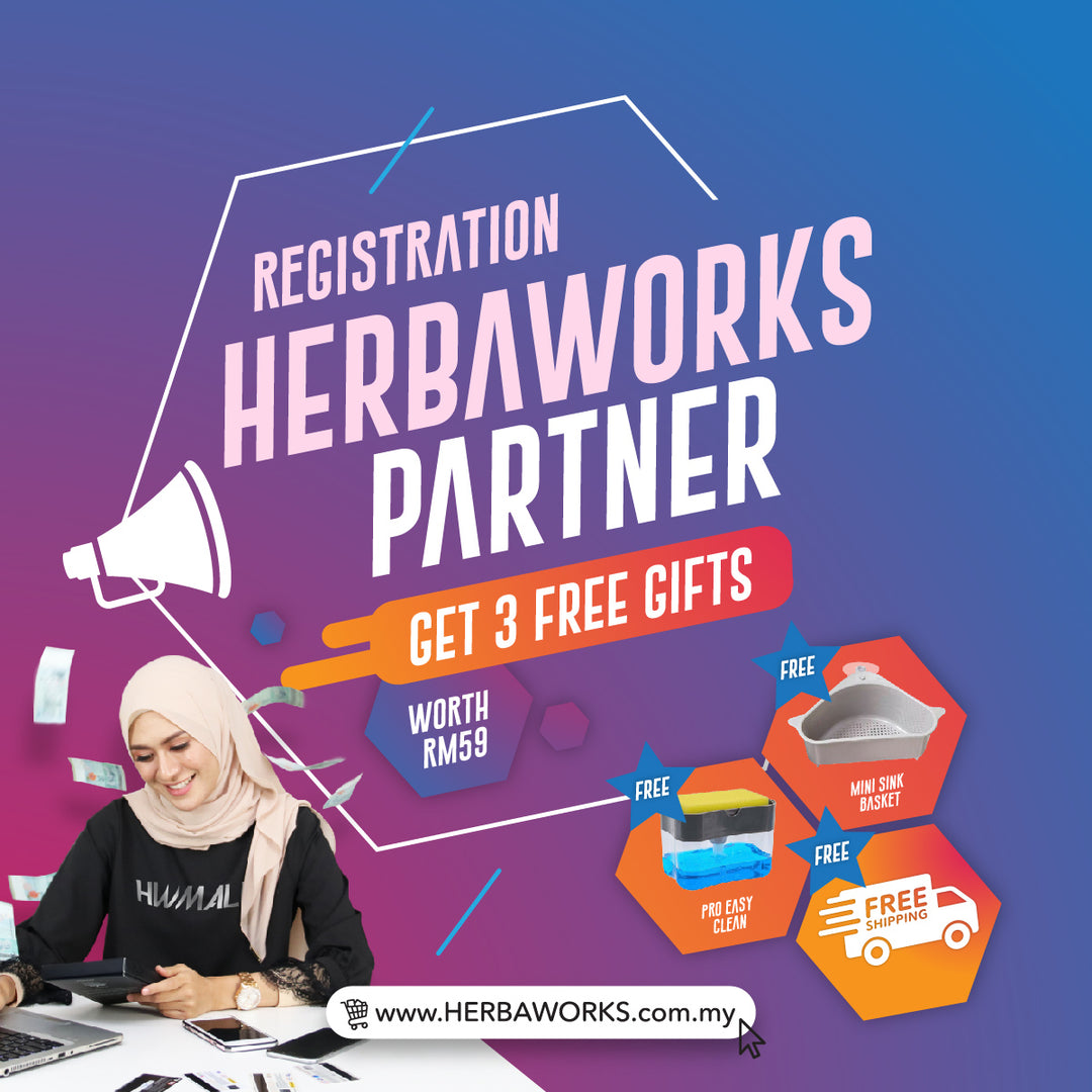 REGISTRATION HERBAWORKS PARTNER - herbaworks.com.my