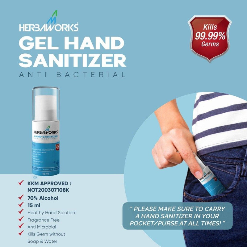 GEL HAND SANITIZER - herbaworks.com.my