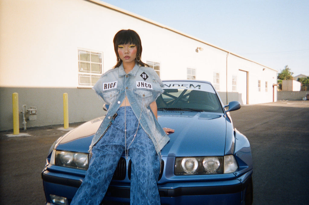 ROSE IN GOOD FAITH x JNCO LOOKBOOK look 8