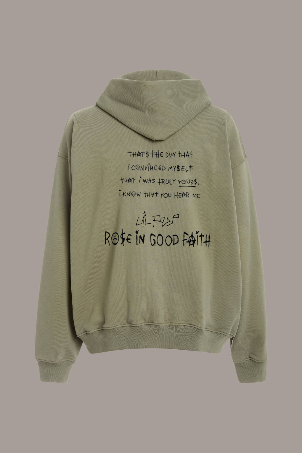 HEAVY LIVE FOREVER HOODIE