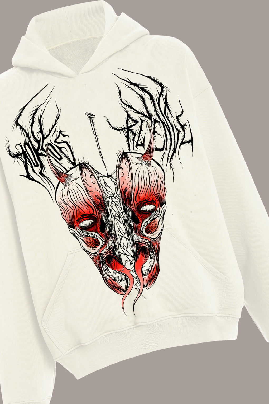 SPLIT PERSONALITY HOODIE + LIVE-STREAM PLAYBACK