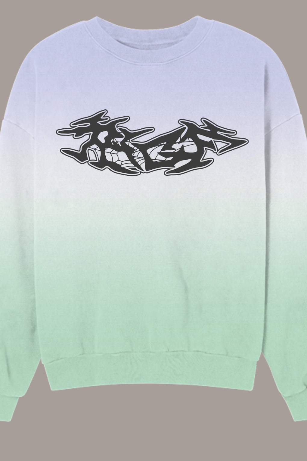 SPRAY CREWNECK