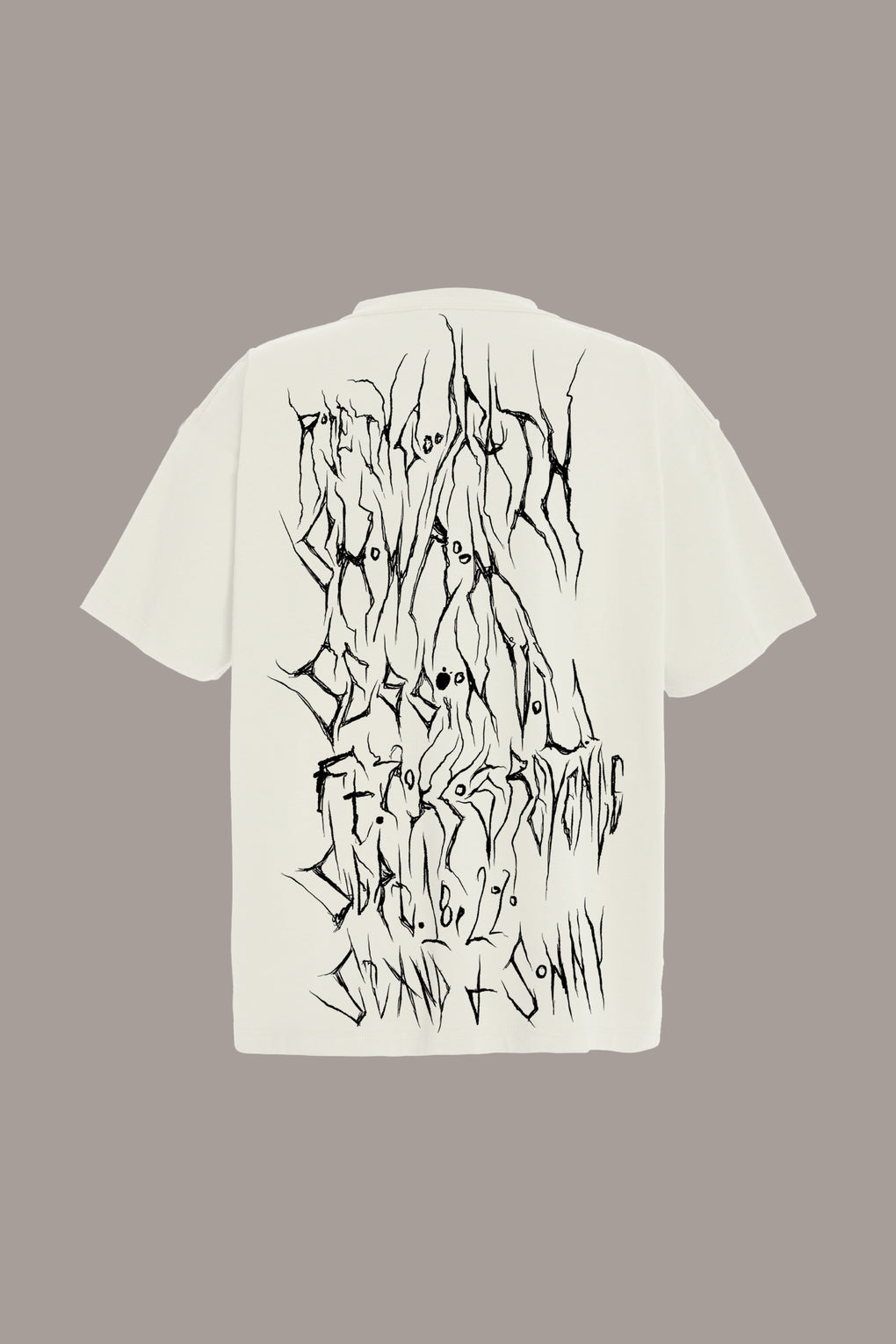SPLIT PERSONALITY TEE + LIVE-STREAM PLAYBACK