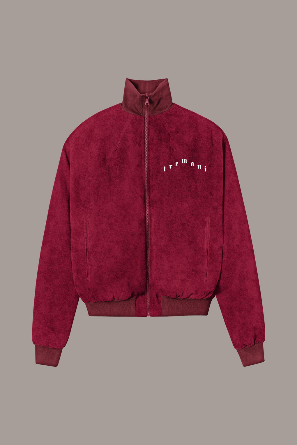 VELOUR LOUNGE JACKET