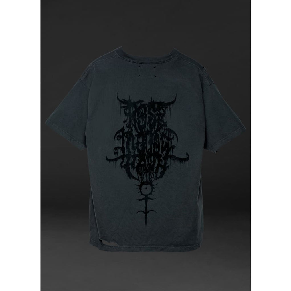 BLACK BLOOD HEAVY TEE - PHYSICAL