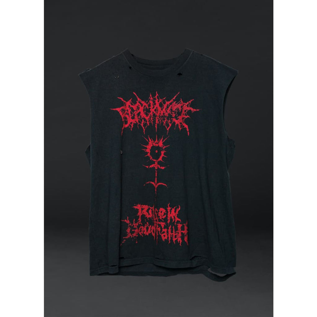 FLESH DISTRESSED CUTOFF - PHYSICAL