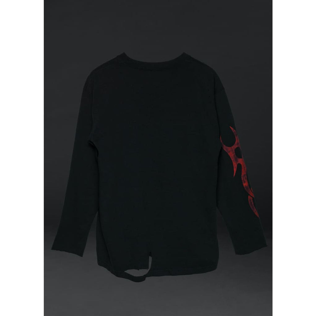 FLESH SWAROVSKI LONG SLEEVE - PHYSICAL