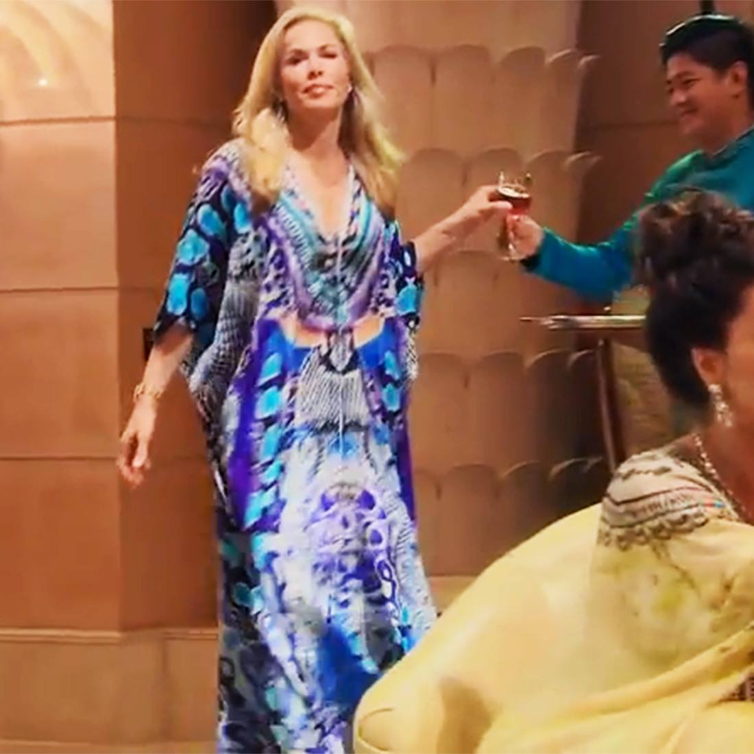RHOBH star Kathryn Edwards Kaftan from Shahida Parides