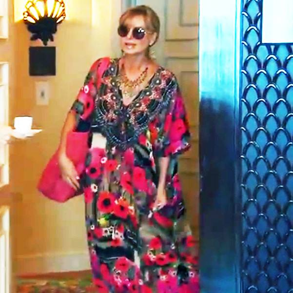 Eileen Davidson in Shahida Parides on the Real Housewives of Beverly Hills in Dubai Season 6