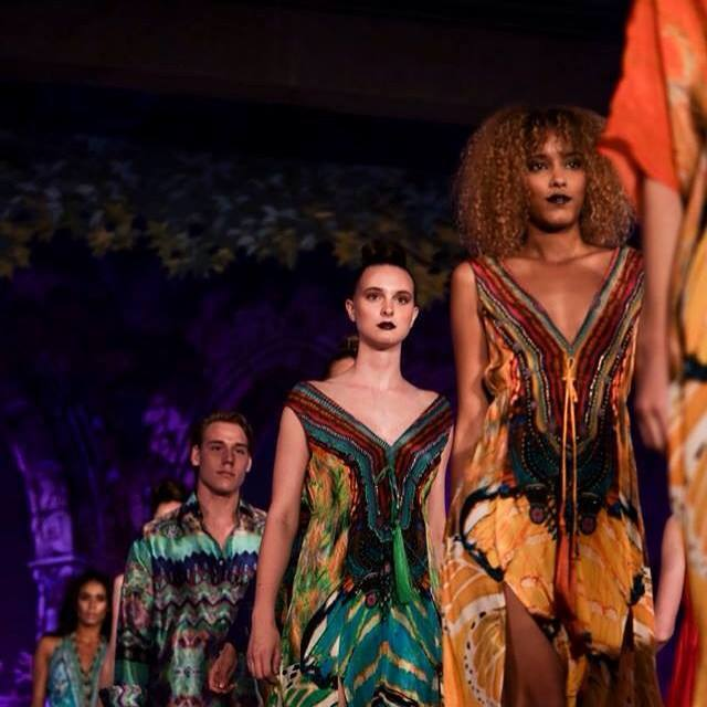 Parides models showcasing spring summer collection 2016