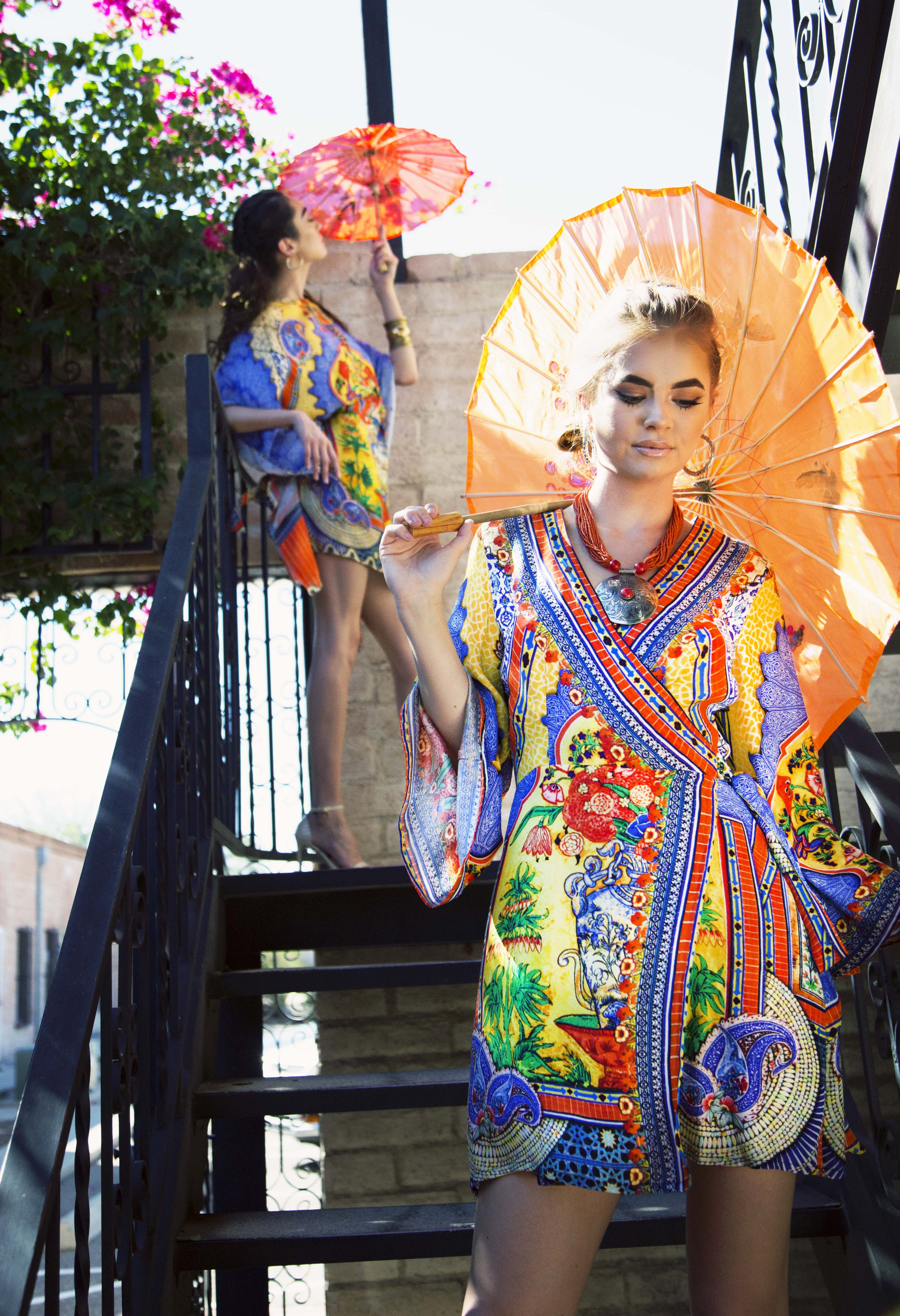 Shahida Parides has released their new porcelain print from their 2018 collections. The print comes in in variety of styles for every type of woman.