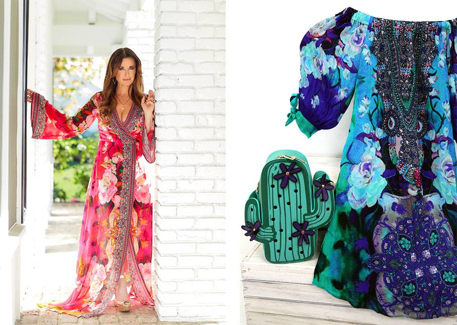 Kyle Richards look for mother's day