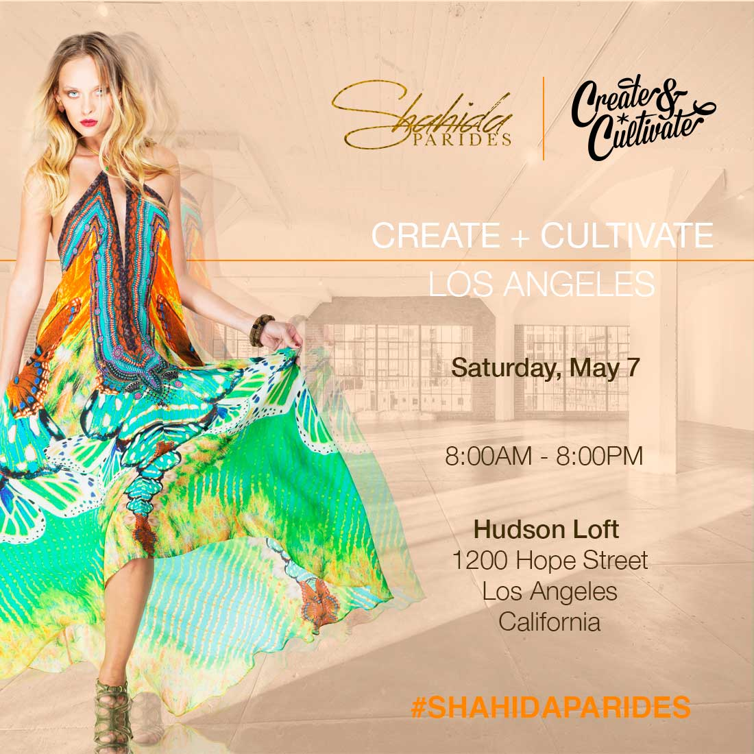 Shahida Parides at Creative & Cultivate 2016