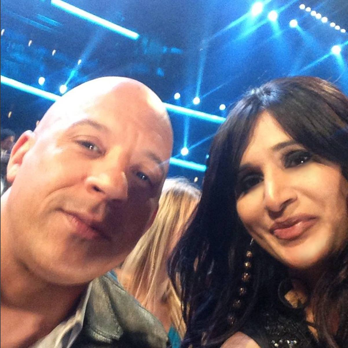 shahida-parides-peoples-choice-awards-with-vin-diesel