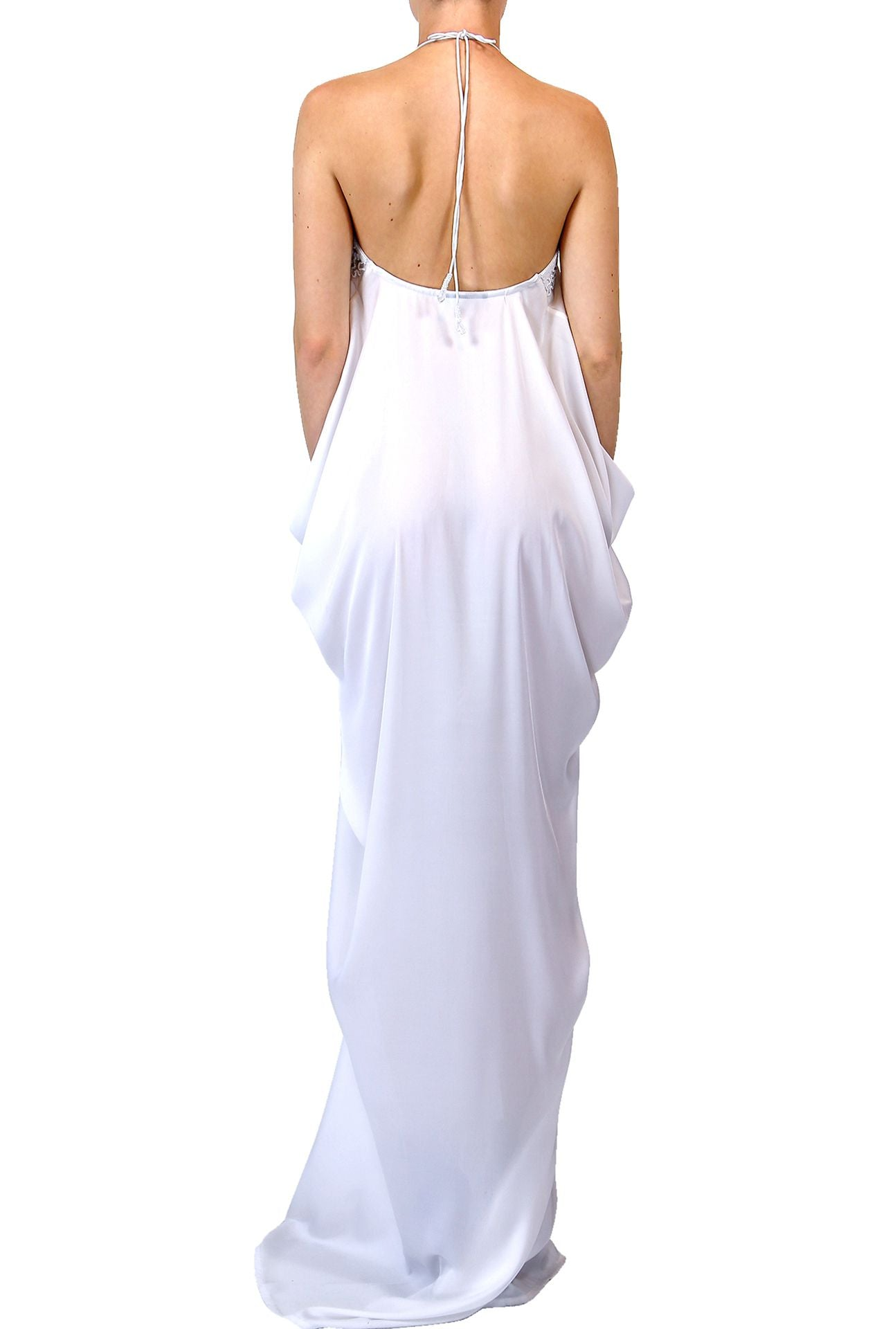 White Caftan dress long