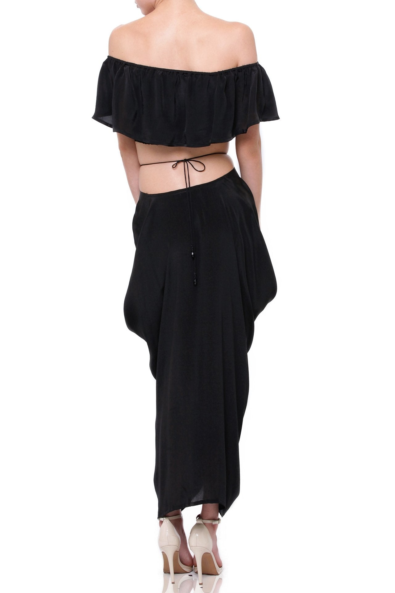 Women-Designer-Black-Crop-Top-Shahida-Parides