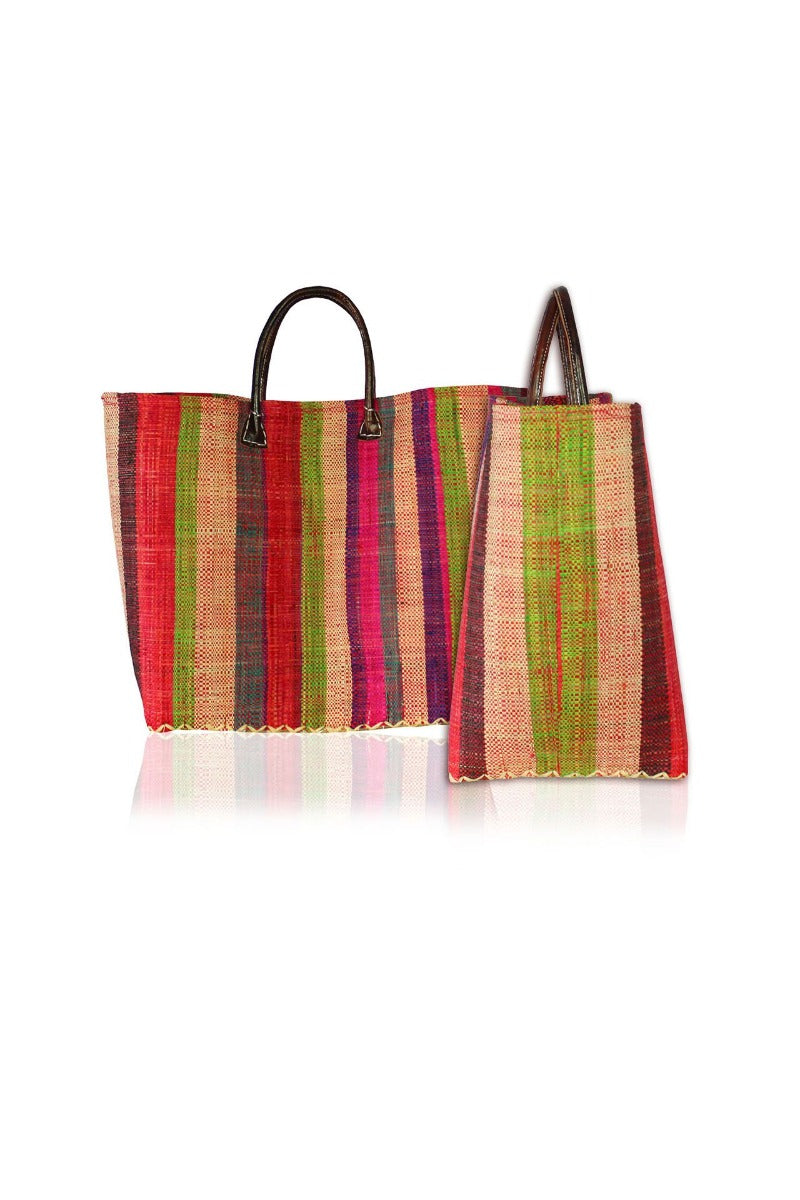 Stripe Canvas Tote