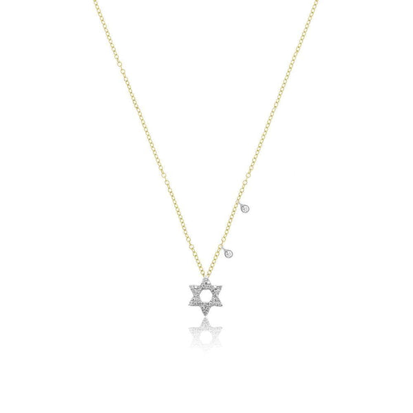 Meira T 14K Yellow Gold Star Of David Necklace