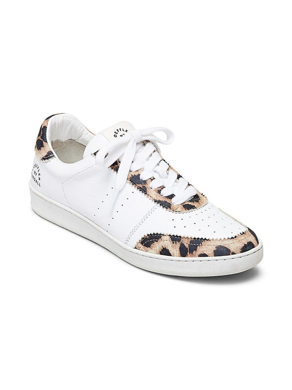 Loeffler Randall - Keeley Leopard Low Top Sneakers