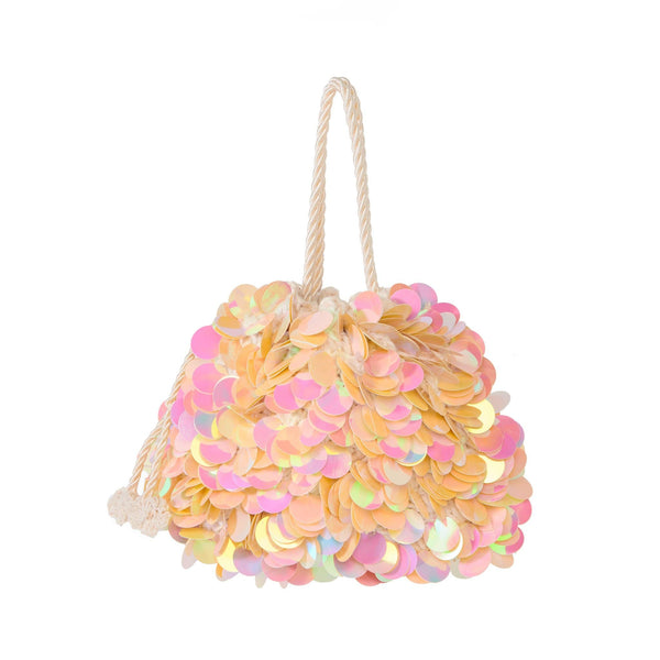 Daisy Sequin Mini Bag