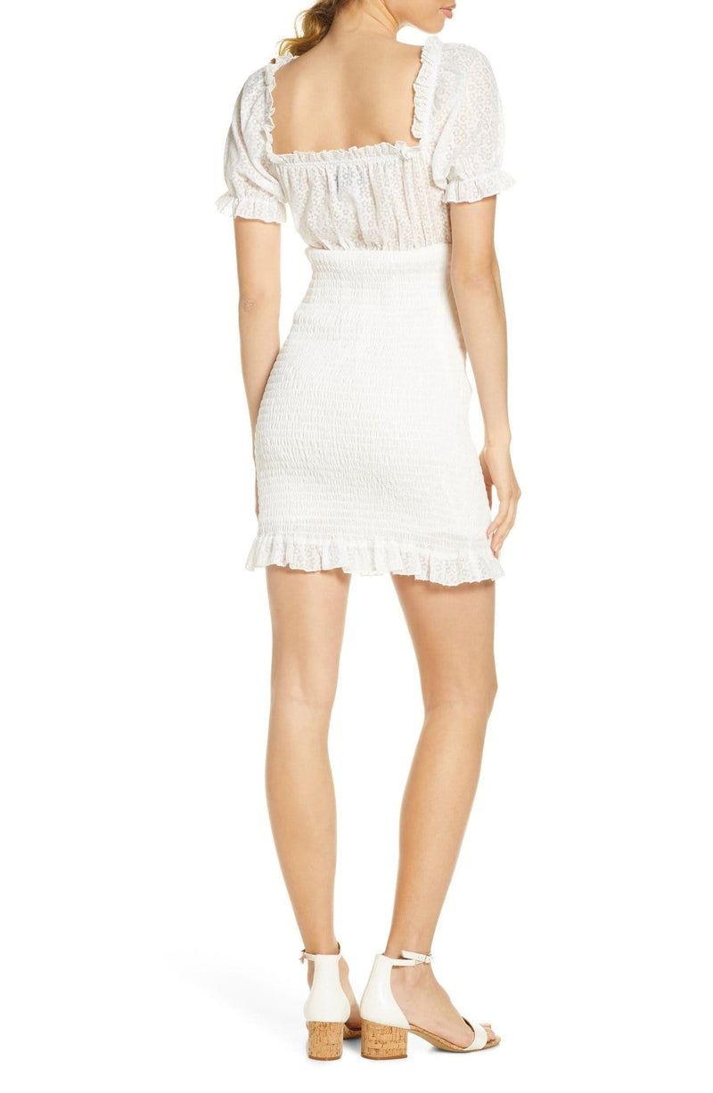 Finders Keepers - Eva Smocked Mini Dress