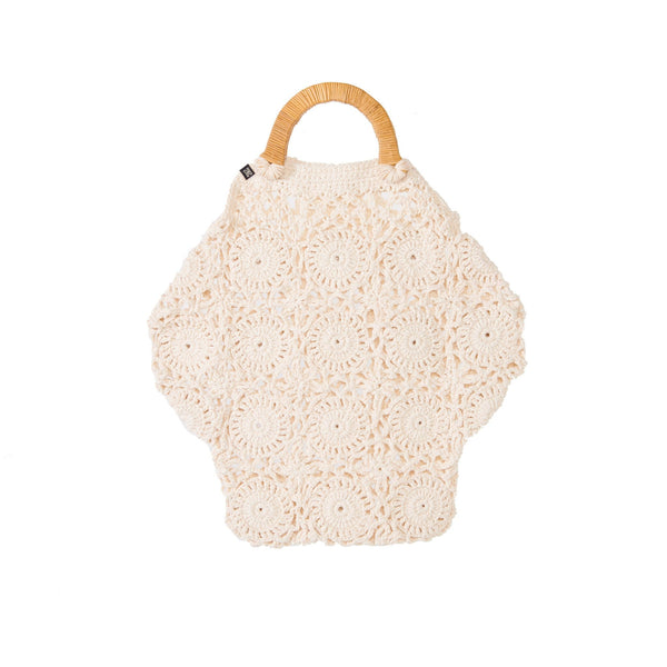 Melissa Crocheted Top Handle Bag