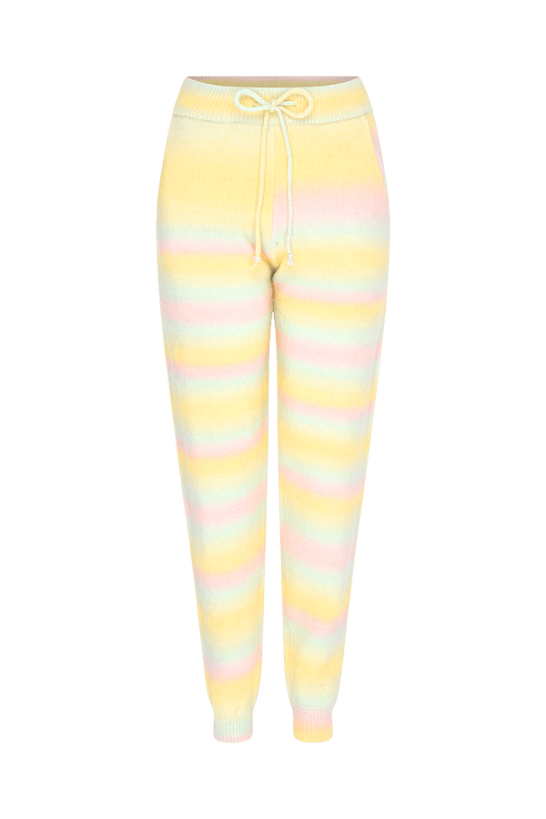 Olivia Rubin - Tilda Pastel Ombre Knitted Joggers
