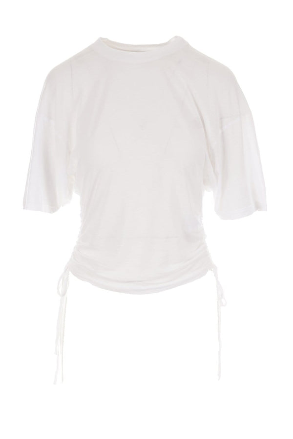 IRO - Palomy White Side Tie Tee