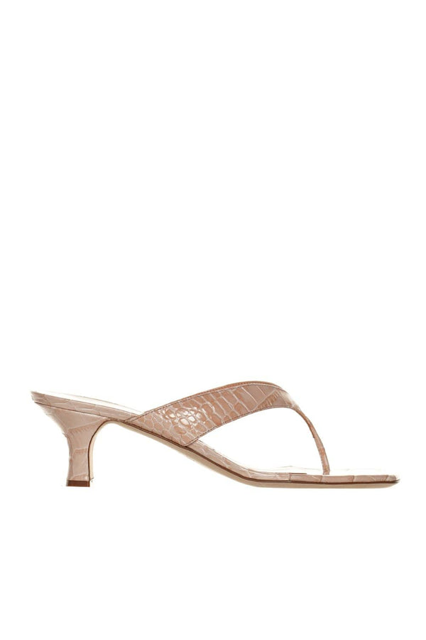 Portofino Powder Pink Thong Sandals