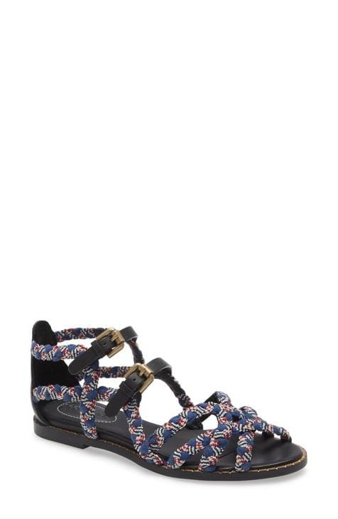 See by Chloé Braidlace Open Toe Sandal