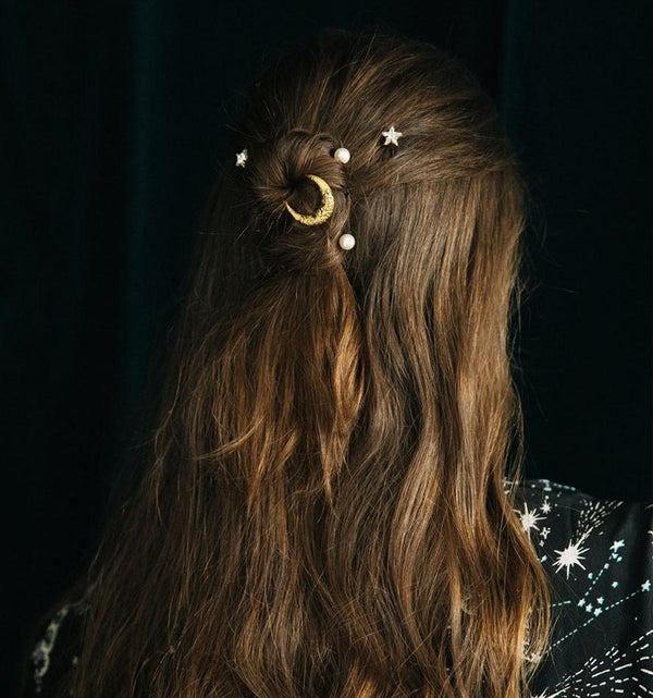 Jennifer Behr - Oberon Star And Pearl Bobby Pins
