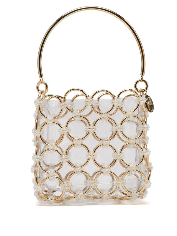 ROSANTICA Joplin Gold Geometric Bag