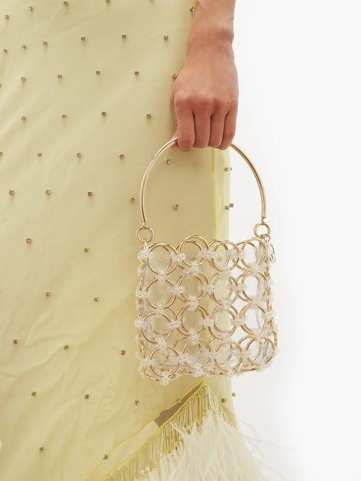 ROSANTICA - Joplin Gold Geometric Bag