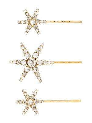 Jennifer Behr - Aurelia Antique Gold Bobby Pins