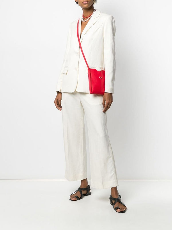 Derek Lam 10 Crosby - Ema Culotte With Tuxedo Stripe