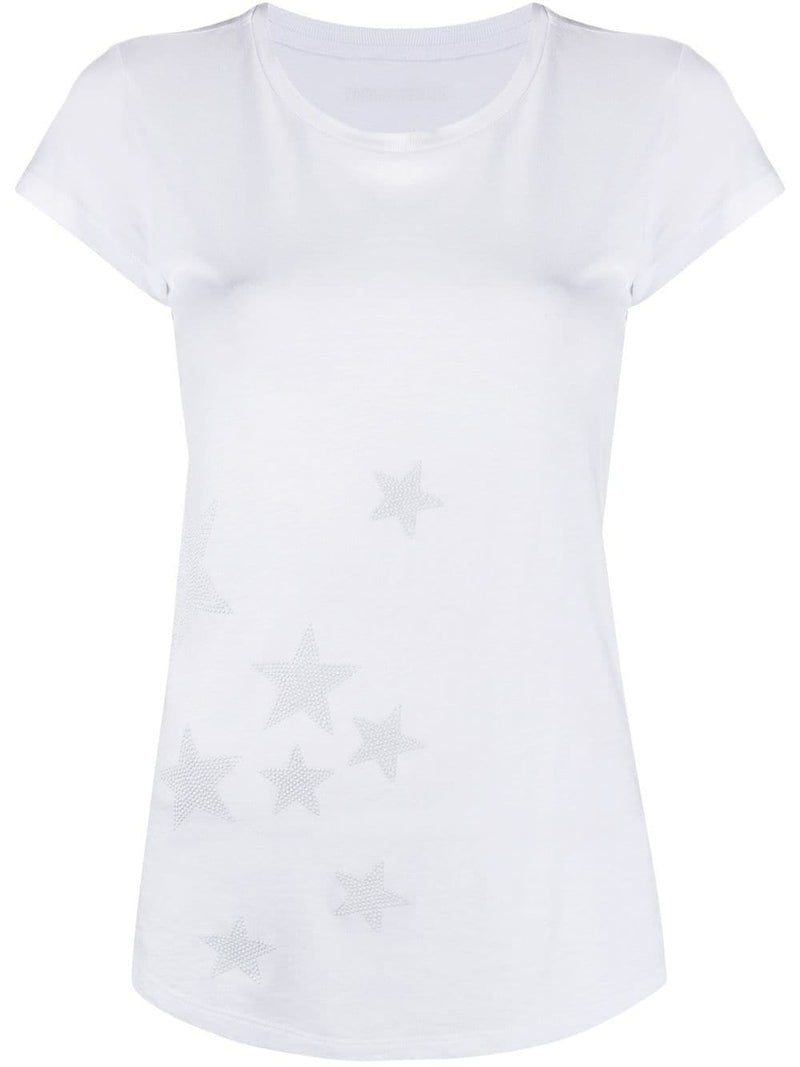 Skinny Star Studded T-Shirt