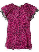 Tinker Leopard Lace Top