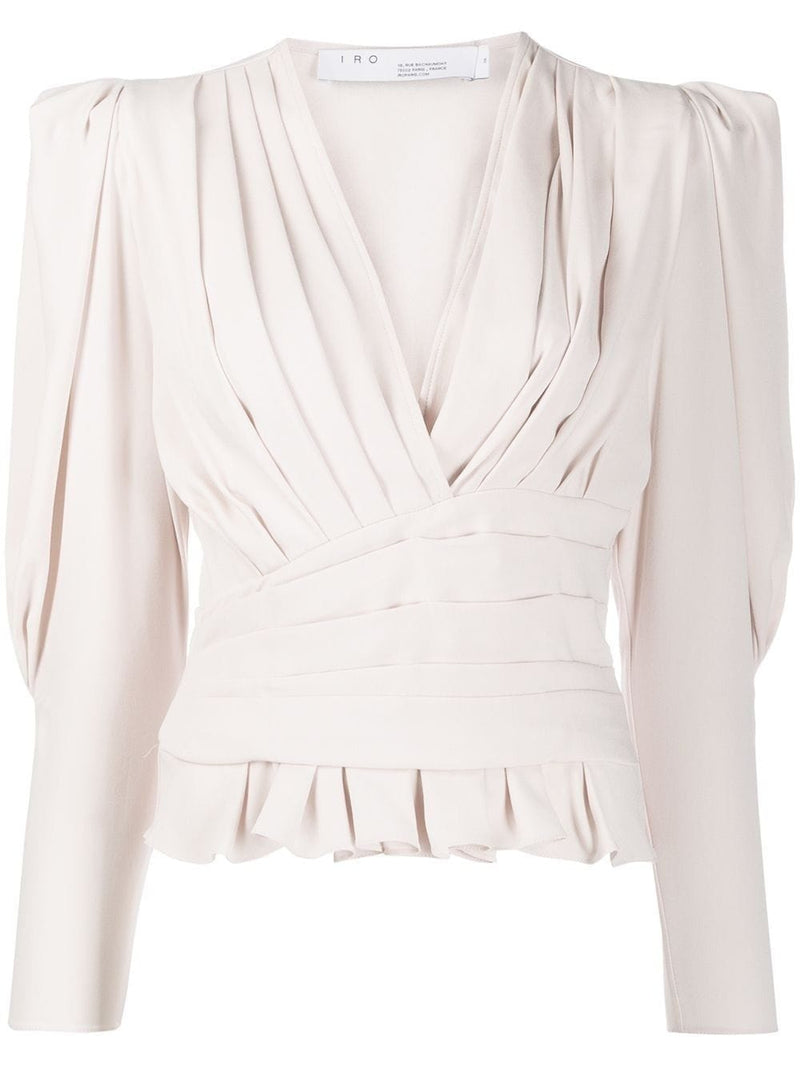 Charlos Pleated Blouse