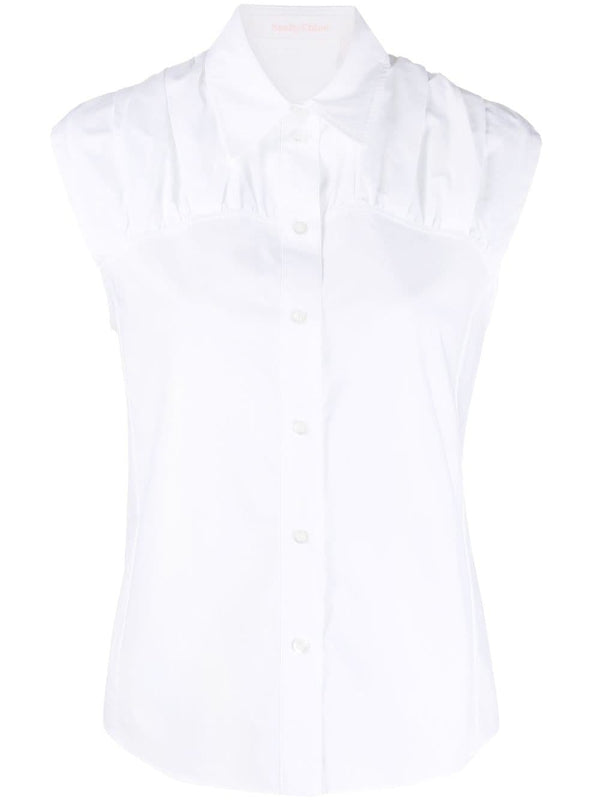 See by Chloé Sleeveless Poplin Top
