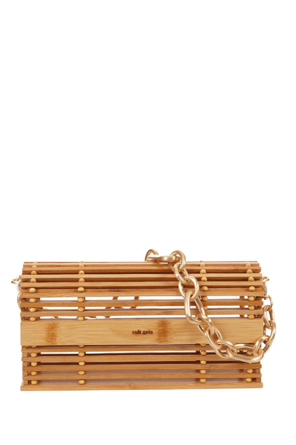 Cult Gaia - Sylva Natural Bamboo Shoulder Bag