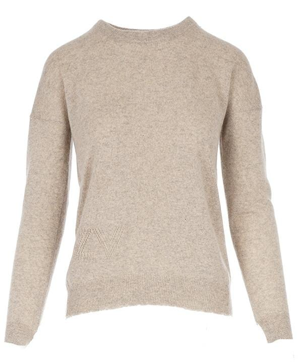 Cici Cashmere Star Patch Sweater