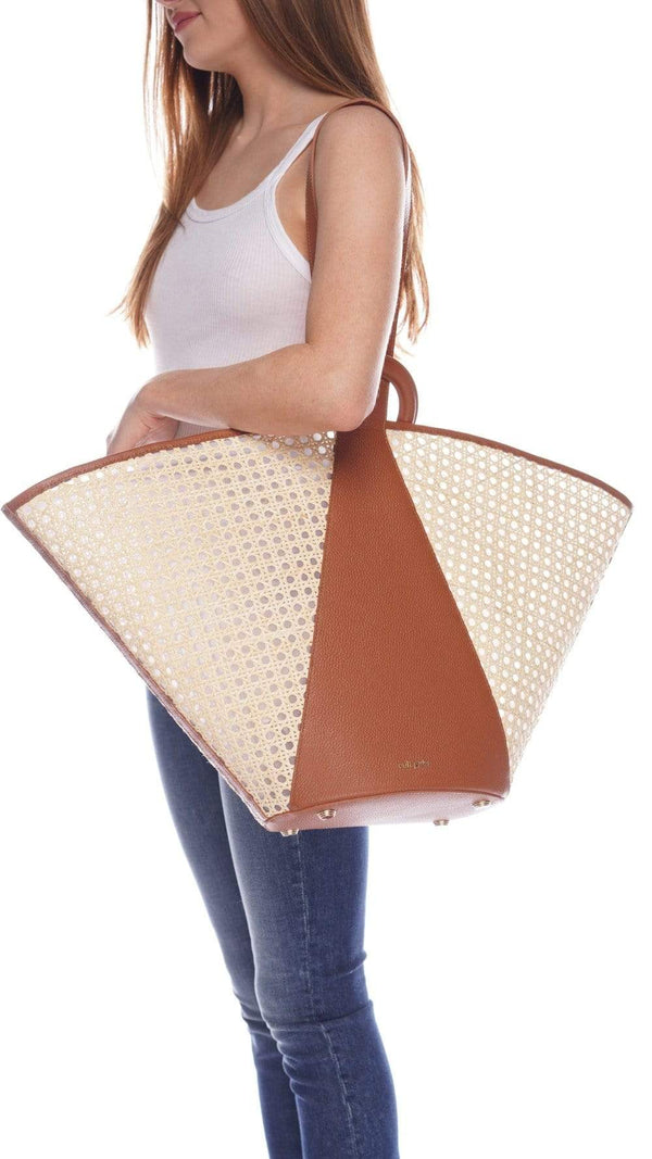 Roksana Natural Tote Bag