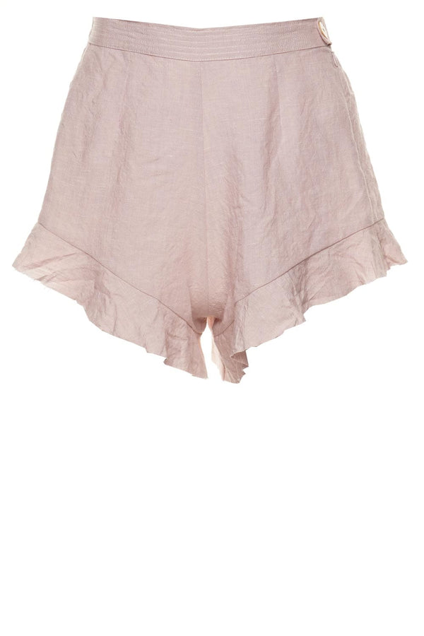 forte_forte Linen Viscose Ruffled Coulottes