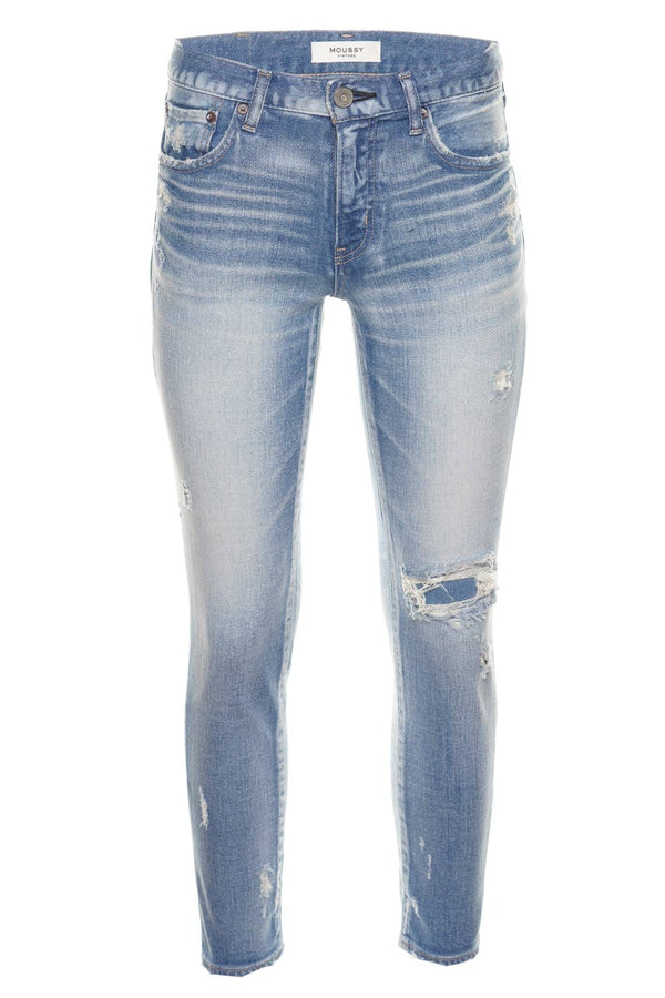 MOUSSY VINTAGE Lenwood Light Blue Skinny Jeans