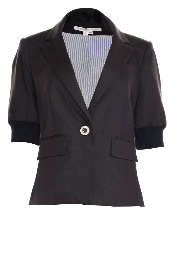 Margereth Navy Dickey Jacket